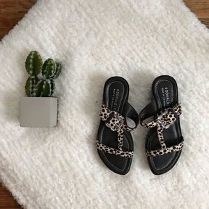 Donald J Pliner CAMIA Animal Print Sandals